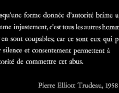 Québec : l'Histoire qui se répète et se poursuit… à ce jour?