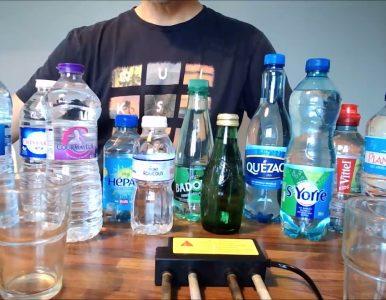 VIDÉO : Test du potentiel graphène des eaux en bouteille